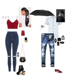 """""""Untitled #1192"""" by wallacehanna ❤ liked on Polyvore featuring Topshop, ALDO, Chloé, Kate Spade, Bella Freud, Butter London, River Island, adidas Originals, Mulberry and Florsheim"""
