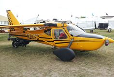 Plane driven's PD-2 Roadable aircraft. Modified sportsman 2+ 2.