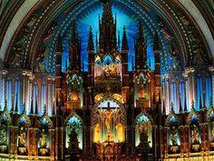 Notre-Dame Basilica - Canada ~ @My Travel Manual