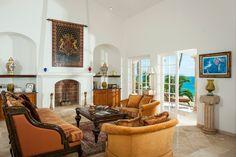 Villa Paraiso, Cabo San Lucas, Mexico Spanish colonial style living room