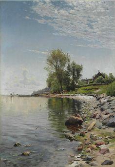 The Athenaeum - Coastal View (Peder Mork Monsted - )