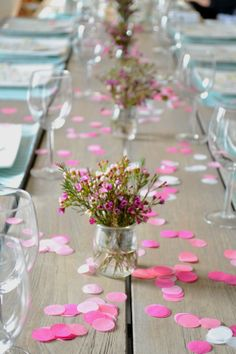 Ideas For Flowers Wedding Table Pink Beautiful Wedding Table Flowers, Wedding Decorations, Table Decorations, Orquideas Cymbidium, Birthday Party Tables, Deco Floral, Event Decor, Tablescapes, Diy Wedding