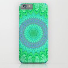 Crystal mandala iPhone & Samsung Galaxy case