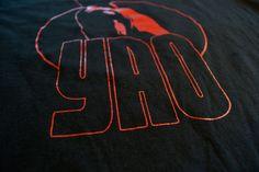 Yao Ming tee    http://purehoop.bigcartel.com/product/warrior