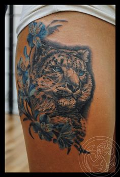 snow leopard by Rosa