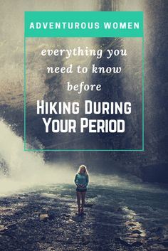 Your period can be an uncomfortable experience and the thought of dealing with it while hiking and backpacking can keep even the most adventurous girl off the trail. With a few tips though, dealing with your period while on a backpacking or camping trip isn't any different from dealing with it at work or school. In fact, according to WebMD, exercise and hiking actually helps reduce the pain and discomfort of cramps.