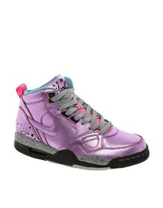 the latest 3d5df 93a21 Nike Flight 13 Mid Pink Trainers Pink Nikes, New Shoes, Crazy Shoes, Latest