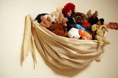 The Better Nester: Wall Hanging Stuffed Animal Storage Tutorial – Woman Diy Hacks – Monkey Stuffed Animal Stuffed Animal Holder, Stuffed Animal Hammock, Stuffed Animal Storage, Sewing Stuffed Animals, Stuffed Toys, Diy Hacks, Teddy Storage, Yarn Storage, Small Storage