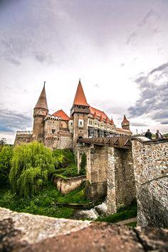 Corvin Castle . Hunedoara, Romania