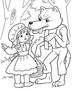Printable Pictures to Color Nursery Rymes . Printable Pictures to Color Nursery Rymes . Pin by Victoria todd On Coloring Pictures Pattern Coloring Pages, Free Coloring Sheets, Coloring Pages For Kids, Nursery Rymes, Girl Nursery Colors, Red Riding Hood Party, Wolf Colors, Nursery Pictures, Printable Pictures
