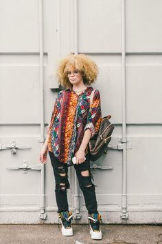 Street style from Afropunk 2014.