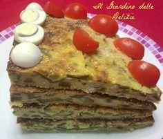 Frittata zucchine philadelphia, al forno