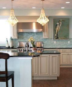Coastal Nautical Kitchen Design Ideas With A Wow Factor