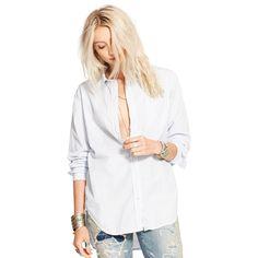 Gestreiftes Boyfriend-Hemd - Alles zeigen Bekleidung - Ralph Lauren Deutschland