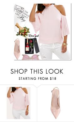 """""""rosegal"""" by hanacakuli ❤ liked on Polyvore featuring WALL"""