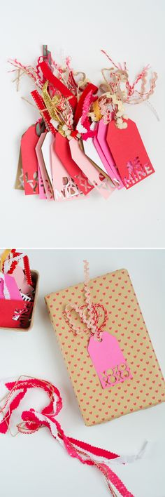 Valentine Gift Tags! with Cricut Explore | this heart of mine