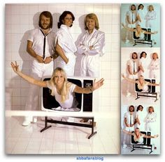 Infamous Abba photo shoot where Frida's foot (in some of the pictures) is the wrong way round #Abba #Agnetha #AnniFrid 8th Of March, About Me Blog, Photoshoot, Fans, Pictures, Queens, Victoria, Music, Photo Shoot