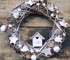 Creativite / Vianočný natur veniec