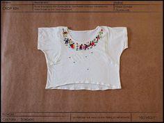 Crop bordado a mano por María Esther de @kin_mx  #embroidery #hechoamano #handmade #textures #texturas #textil #textile #modaetica #ethicalfashion #revoluciondelamoda #fashionrevolution #fairtrade #comerciojusto #fairtradefashion #consumelocal #compralocal #buylocal #mexico #oficio #craft #Michoacán