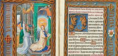 detail of page from The Rothschild Prayer Book