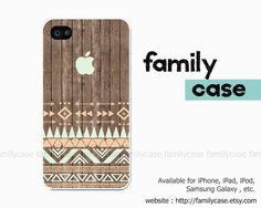Aztec Wood iphone 5 case iphone 5s case Coral by familycase, $9.99