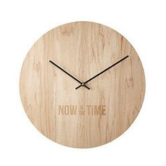 Now is the Time Clock | He needs this, because no truer words have been spoken.