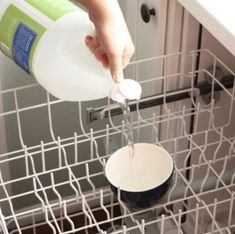 Spring Cleaning Tips and Hacks - Open the windows, let the sun shine in, and tackle the neglected areas of your home with these easy cleaning solutions. The forgotten areas that are filthy - who knew? Cleaning Your Dishwasher, Household Cleaning Tips, Deep Cleaning Tips, Toilet Cleaning, House Cleaning Tips, Cleaning Solutions, Spring Cleaning, Cleaning Hacks, Diy Hacks