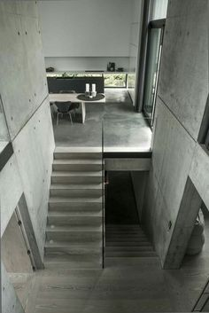 Modern Concrete Home is designed by Sebastian Shroers Architect and is located in Denmark - Architecture and Home Decor - Bedroom - Bathroom - Kitchen And Living Room Interior Design Decorating Ideas - Concrete Houses, Concrete Building, Concrete Architecture, Interior Architecture, Scandinavian Architecture, Contemporary Architecture, Casa Loft, Companies House, Concrete Interiors