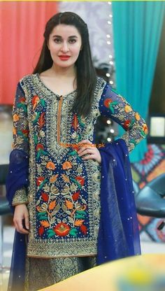 Excited to share this item from my shop: Indian Pakistani Unstitch Pure Chiffon Hevy Embroidered Handwork SalwarKameez Punjabi Suit Latest Pakistani Dresses, Pakistani Fashion Party Wear, Pakistani Designer Suits, Pakistani Bridal Dresses, Pakistani Dress Design, Pakistani Outfits, Latest Pakistani Fashion, Indian Dresses, Casual Dresses