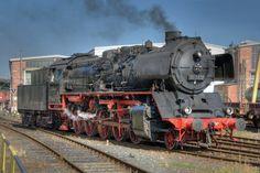 DEUTSHE REICHSBAHN CLASS 50 (DBR 50-3552), in Bischofsheim, Hesse