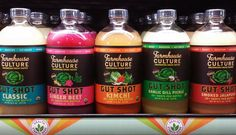 It's FINALLY here! After months of anticipation our newest product Gut Shot has hit shelves.  Keep your eyes peeled for these naturally probiotic fermented drinks, if you see them, grab some, we dare ya!