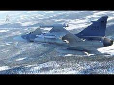 JAS 39 Gripen fäller bomber - YouTube