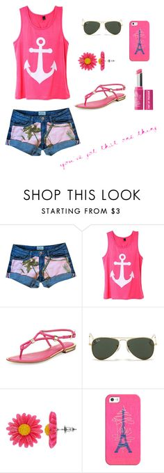 """""""Untitled #94"""" by alexandrathompson19 ❤ liked on Polyvore featuring Michael Kors, Ray-Ban, Mudd, Casetify and Bare Escentuals"""