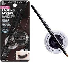 Best Eyeliner Ever: Maybelline Gel Eyeliner | Simply Stitched Together
