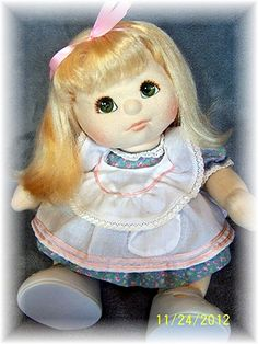 My Child doll - 1985  Their faces and body were fuzzy