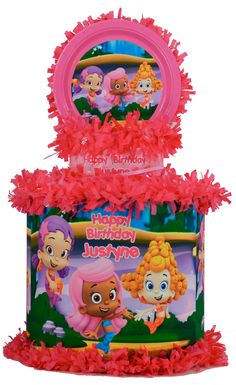 World of Pinatas - Bubble Guppies Girls Personalized Pinata, $39.99 (http://www.worldofpinatas.com/bubble-guppies-girls-personalized-pinata/)