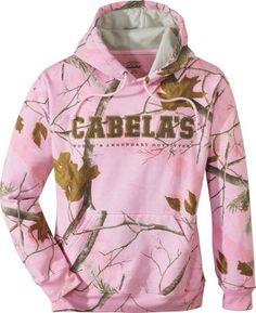 Cabela's Women's Campus Hooded Sweatshirt. Want!