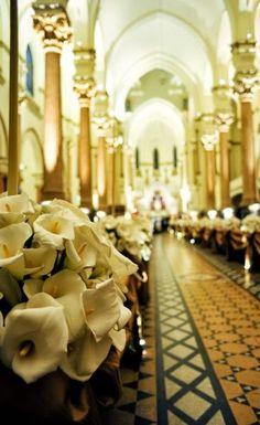 Decoração Igreja   Noivinhas de Luxo