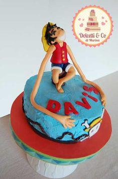 One Piece Cake anime cake onepiece fondant sweet One Piece