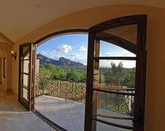 Mediterranean Patio Front Door Design, Pictures, Remodel, Decor and Ideas -  Imagine THIS view?