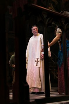 THE HUNCHBACK OF NOTRE DAME at Paper Mill Playhouse Photos by Jerry Dalia -- Patrick Page as Dom Claude Frollo