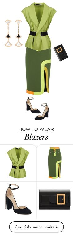 """Untitled #1351"" by clothes-wise on Polyvore featuring Peter Pilotto, Love Moschino, Chloé, Bally and Bulgari"