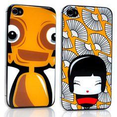 iphone cover robot_geisha