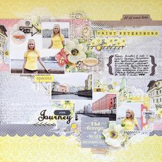 Scrapiniec inspirations on blogspot: Layout about the journey