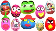 Many Play Doh Eggs Surprise Eggs Kinder Surprise Mickey Mouse Cars 2 Minnie Mouse Hello Kinder joy https://www.youtube.com/watch?v=z3uGpjYg_k4