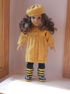 Bzzzz Coat & Hat 1 by pennytennermann, via Flickr
