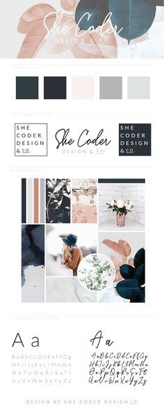 Brand Launch for She Coder Design Co. // Brand // Branding // Website Design // Design // Graphic Design // Logo Design // Color Theory