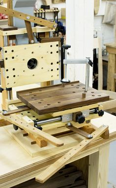 Home Made Multi-Router | The Joinery | Portland, Oregon