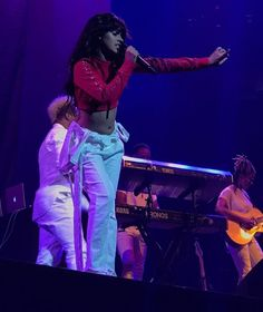 Camila performing at the 24k Magic World Tour in Portland, Oregon - July 23, 2017