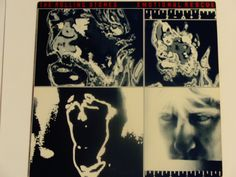"The Rolling Stones - Emotional Rescue w/Giant Poster - ""She's So Cold"" - Rolling Stones Records 1980 - Vintage Gatefold Vinyl Record Album by notesfromtheattic on Etsy"
